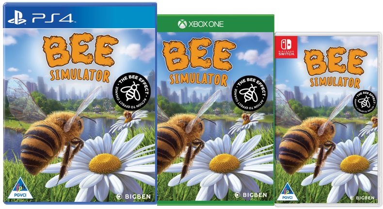 Bee Simulator will be available PS4TM, Xbox One, and Nintendo Switch™ on November 14_The Bee Effect