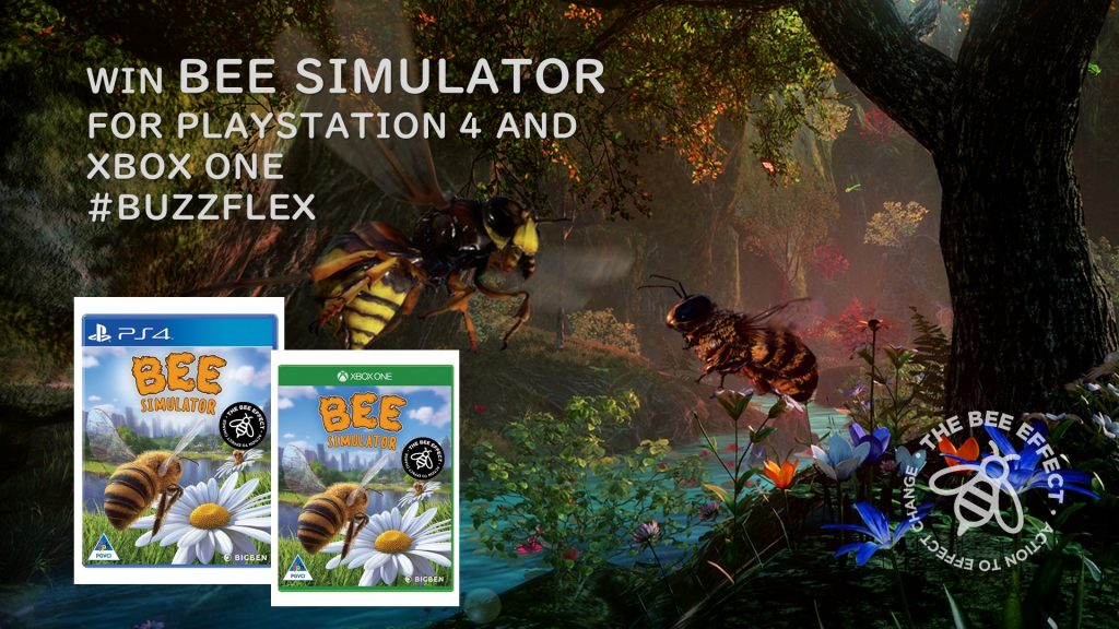 Under 18? Stand a chance to win a Bee Simulator game key for PlayStation 4 or XBOX ONE. What do you have to do? Flex Your Buzz!