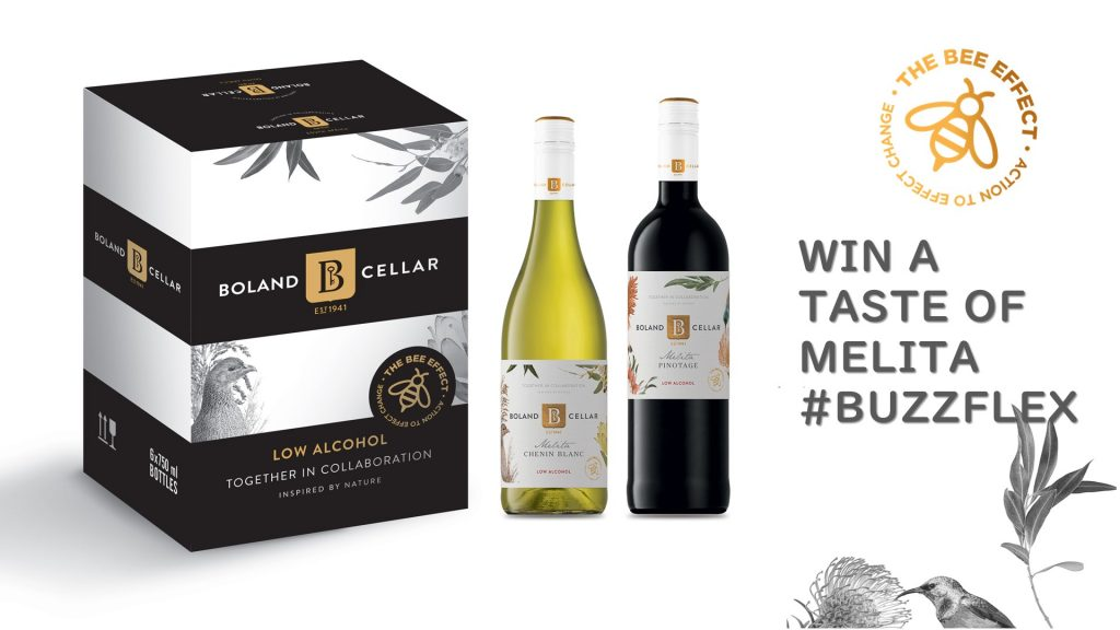Over 18? Stand a chance to win a case of Melita Chenin Blanc and a case of Melita Pinotage - the buzz in low-alcohol wines from Boland Cellar.